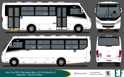 Foz 2013 MBB LO-915 BlueTec5 (Adaptado na porta traseira)